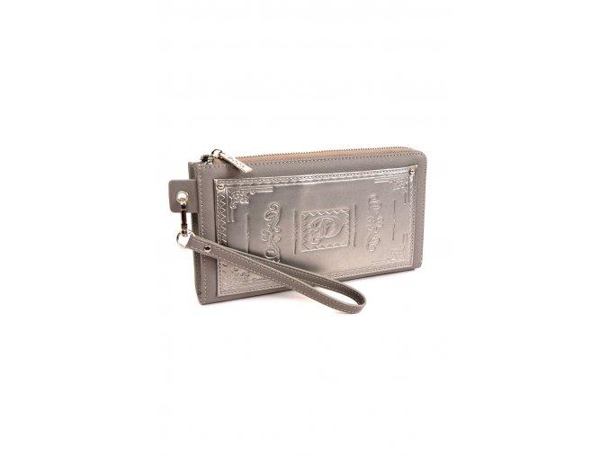 Maxi peňaženka DOCA 65200 sivá 1 kabelky.sk