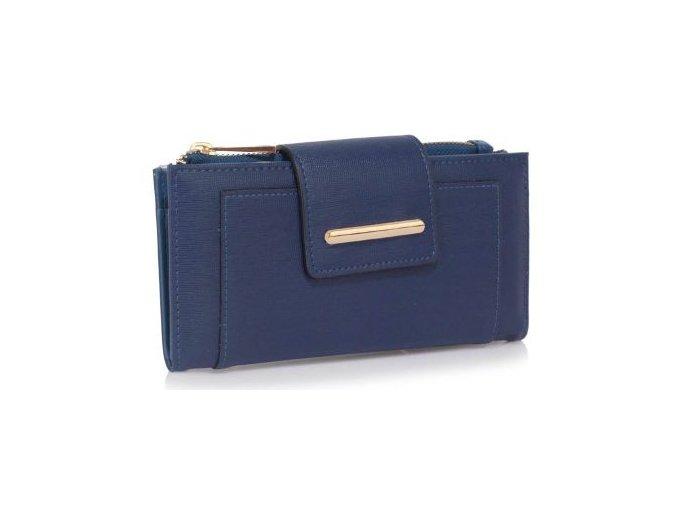 Peňaženka Stripe - námornícka modrá