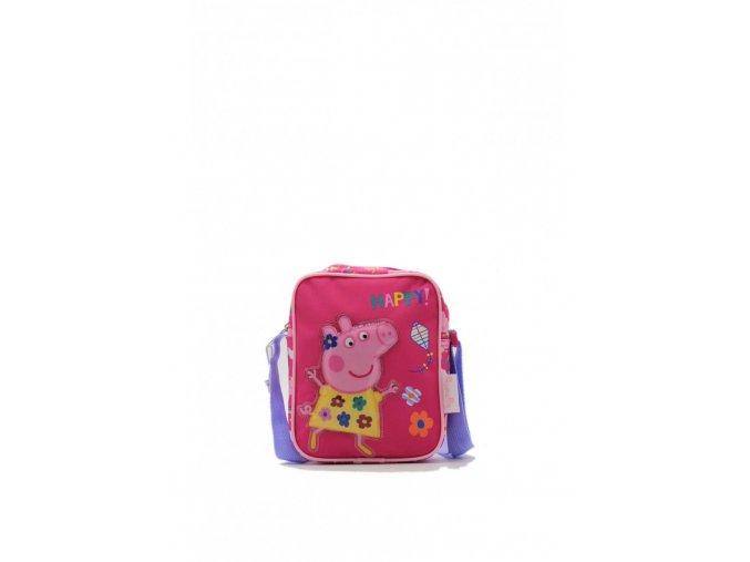 Detská crossbody taška Peppa Pig - ružová