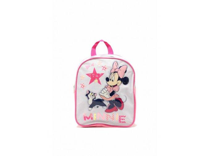 Detský ruksak Minnie - sivý