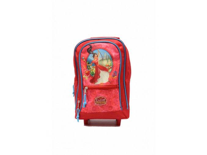 Detský ruksak a kufrík Elena z Avaloru - červený