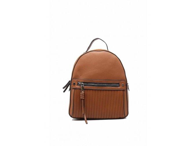 Dámsky ruksak TOM&EVA Sinty - hnedý