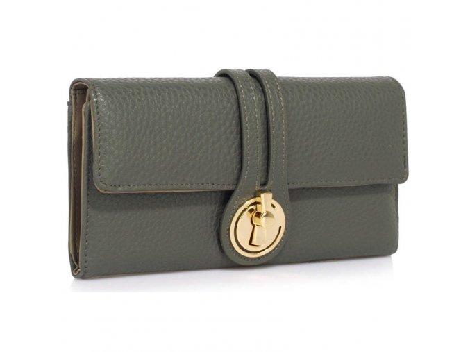 Peňaženka Lock - sivá