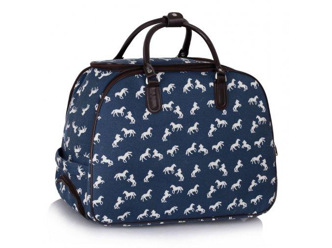 Cestovná taška Horse - námornícka modrá navy