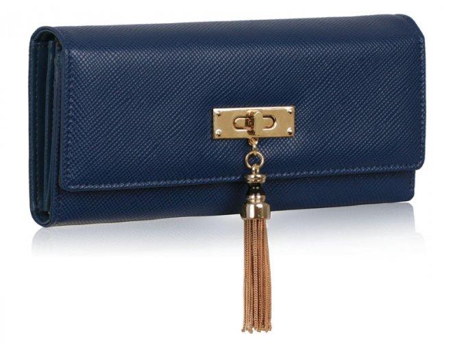 Peňaženka Tassel - námornícka modrá