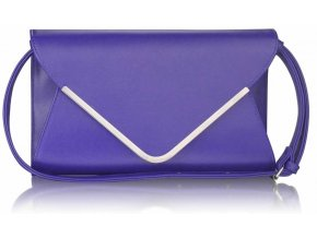 Listová kabelka Flap - modrá