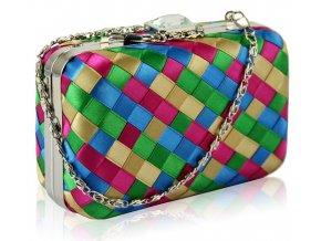 Spoločenská kabelka multicolor
