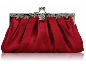 Spoločenská kabelka Eve - červená