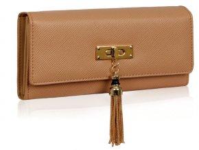 Peňaženka Tassel - nude
