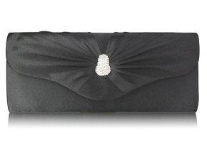 Spoločenská kabelka Eye - čierna