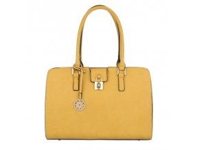 Dámska kabelka Oriel - žltá