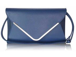 Listová kabelka Flap - námornícka modrá navy