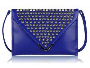 Listová kabelka Slim - modrá
