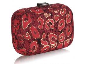 Spoločenská kabelka Case - červená