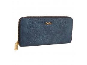 Peňaženka DOCA 64727 - modrá