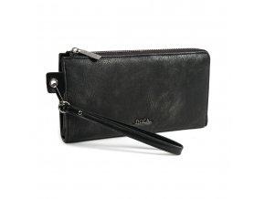 Peňaženka DOCA 64684 - čierna