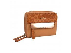 Peňaženka DOCA 64616 - hnedá