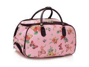 Cestovná taška Bear - červená
