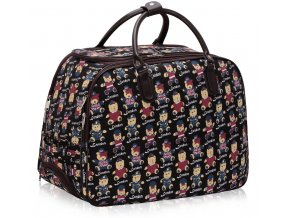 Cestovná taška Bear - čierna