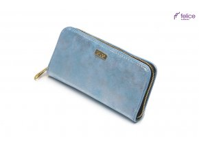 eng pl Elegant Womens wallet P03 blue dubai 16784 1