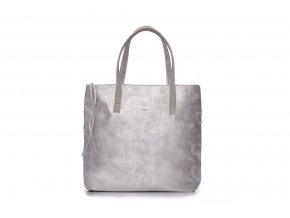 eng pl Shopper bag Verona silver 16785 1