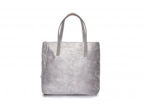 eng pl Shopper bag Verona silver 16785 1