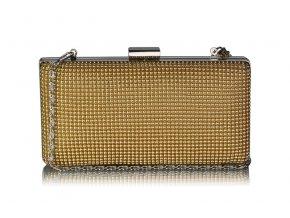 Spoločenská kabelka Ela - zlatá