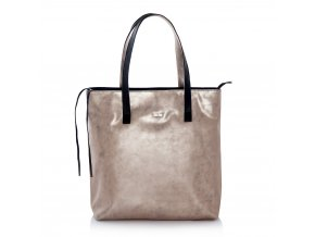 eng pl Shopper bag Felice Verona gold 16889 1