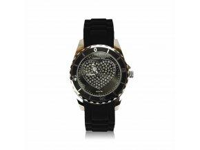 Dámske hodinky - čierne
