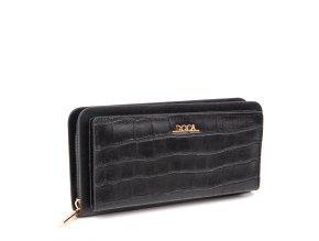 Peňaženka DOCA 64853 - čierna