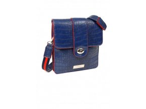 Crossbody kabelka DOCA 13059 - modrá