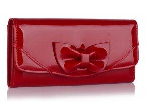 Peňaženka Bow - červená