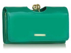 Peňaženka Kiss - smaragdová