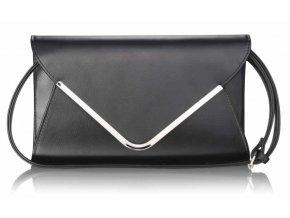 Listová kabelka Flap - čierna
