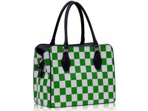 Kabelka Šach - zelená