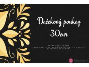Darčekový poukaz 30eur