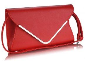 Listová kabelka Flop - červená