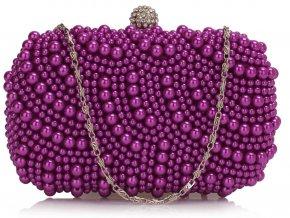 Luxusná kabelka - Pearl - fialová