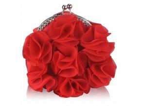Spoločenská kabelka Rose - červená