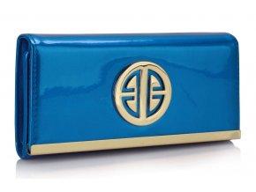 Peňaženka Metal - modrá