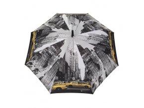 Dámsky dáždnik TOM&EVA SA1632 čierny kabelky.sk