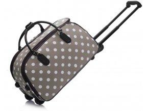 Cestovná taška dots LS00308D sivá 1 kabelky.sk