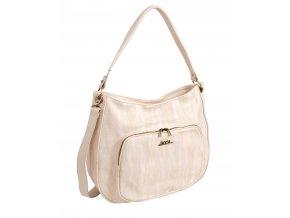 Dámska kabelka DOCA 13291 - biela