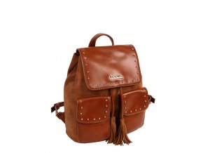 39b38a6e5b Dámsky ruksak 13534 hnedý 1 kabelky.sk