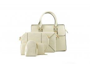 Dámsky kabelkový set Vanity 1 krémový kabelky.sk