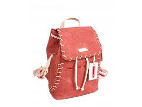 Dámsky ruksak DOCA 13492 ružový 1 kabelky.sk
