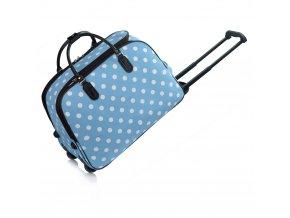 Cestovná taška Dots AGT00309 modrá 1 kabelky.sk