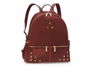 Dámsky ruksak Shape AG00599 burgundy 1 kabelky.sk