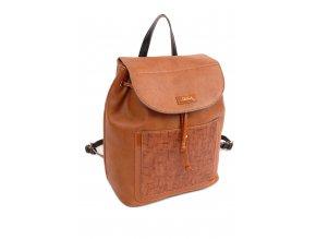 bf865e5b21 Damsky ruksak DOCA 13943 hnedý 1 kabelky.sk