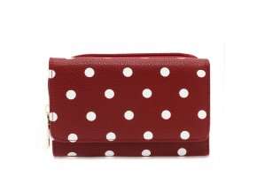 Peňaženka Vancy AGP1045B červená 1 kabelky.sk